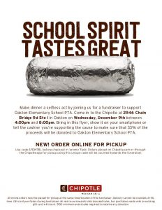 Chipotle Dining for Dollars