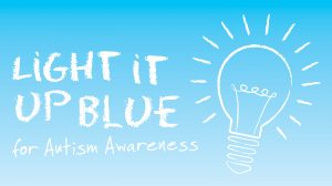 OES LIGHT IT UP BLUE DAY - for Autism Awareness