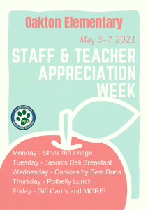 STAFF & TEACHER APPRECIATION WEEK (STAW)