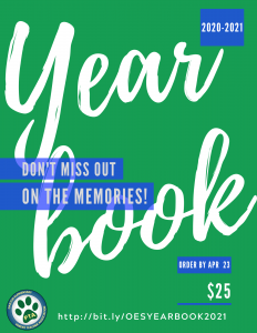 ORDER YOUR YEARBOOK - LIMITED TIME!